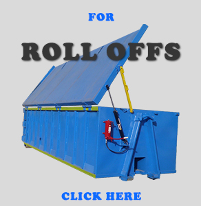 Roll Off Metal Containers