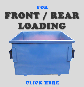 Front / Rear Loading Metal Containers
